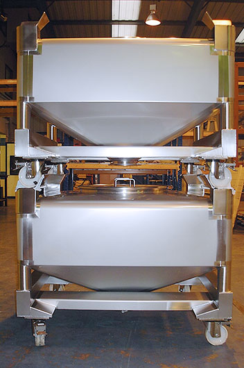 Stainless Steel Tablet IBC