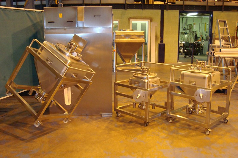 specialist stainless steel fabrication -blender chargepoint