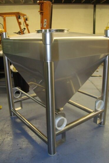 Stainless Steel Intermediate Powder Bulk Container