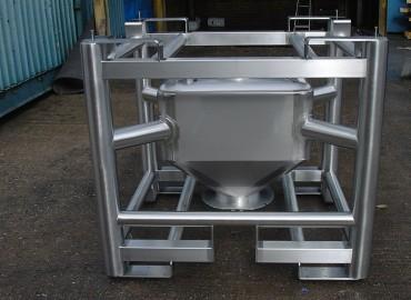 250 litre frame intermediate bulk container
